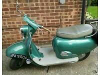 1962 bsa sunbeam 250 twin scooter