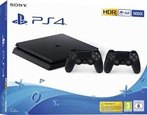 PS4 Slim 500gb - 1 controller (3 games optional add-on)