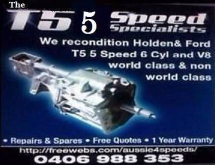 TORANA T 5 5 SPEED GEARBOX SPECIALLY DESIGNED TO FIT  IN PERFECT