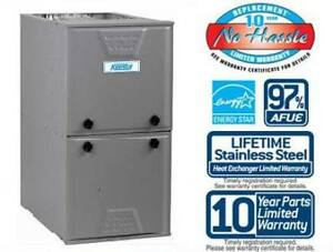 FURNACE SALE REBATES + INSTALL $1100 -free quote- 647-334-9580