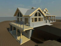 Design / Drafting / Construction Documents / BCIN qualified