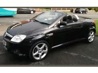 Vauxhall Tigra Exclusiv, 1.4l, convertible, leather seats, electric hood,