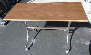 Wooden console table sofa table London Ontario image 3