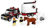 LEGO 7635 4WD with Horse Trailer retired hard to find