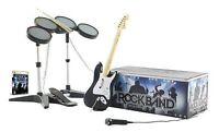 Wii Rockband for sale