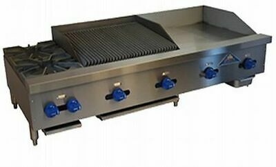 Comstock-castle Fhp60-24-2lb 60 Countertop Gas Griddle Charbroiler