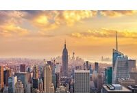 Flights to NEW YORK 12TH-16TH Dec !!