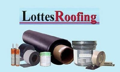 Epdm Rubber Roofing Kit Complete- 7500 Sq.ft. By The Lottes Companies