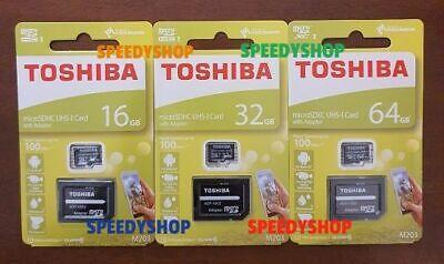 Micro SD 16 GB 32 GB 64 GB scheda memoria 100MB/s classe 10 MicroSD Toshiba M203