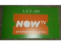 *** NOW TV 3 MONTHS ENTERTAINMENT PASS