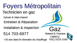 GAZ NATUREL & PROPANE