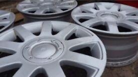 """16"""" Alloy wheels, VW Passat, Audi A3, 5x112 57mm"""