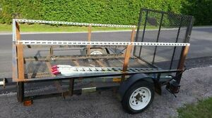 Utility Trailer-Good Condition