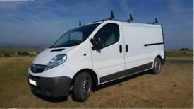 Vauxhall vivaro van 62 plate low mileage no VAT