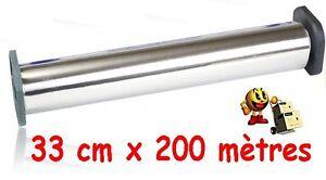 de papier dAluminium alimentaire 33 cm x 200 ml ou film d aluminium