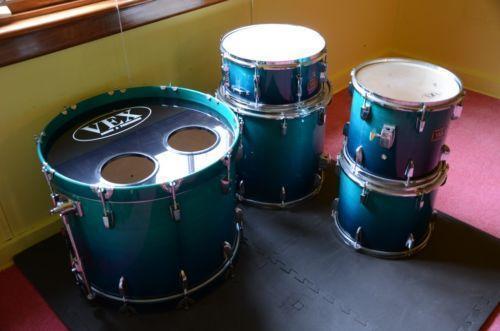 used maple drum sets ebay. Black Bedroom Furniture Sets. Home Design Ideas