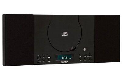 Stereoanlage mit Bluetooth, CD, Radio und AUX IN Denver MC-5010 BT schwarz