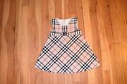 Burberry Nova Check Dress