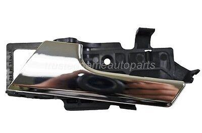 Driver Side Left Inside Door Handle Chrome Lever for Chevy Aveo Pontiac G6