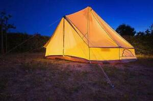 Tent for Camping and Glamping, a new level of Camping outdoors.