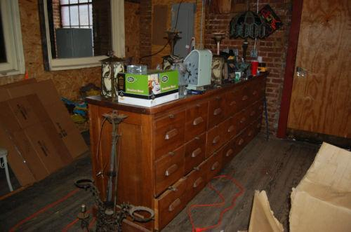 Antique Store Counter Ebay