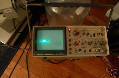 Hitachi V-423 Oscilloscope 40 Mhz V423 2 Channel