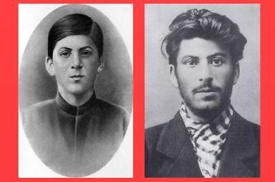 1894 1902 Joseph Stalin PHOTO Lot, Russian Dictator Communist Party Soviet Union