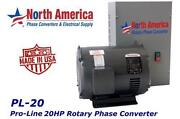 20 HP Rotary Phase Converter