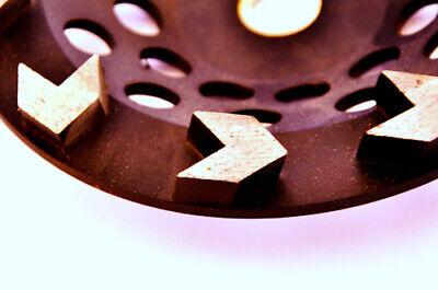 7 Arrow Segment Diamond Grinding Cup Wheel For Concrete