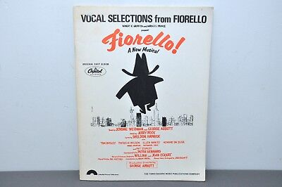 Vocal Selections from FIORELLO! Paperback 1959
