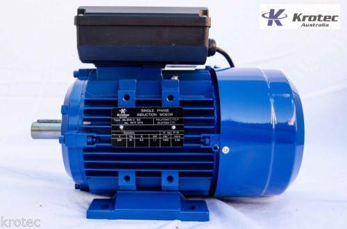 5hp Single Phase Electric Motor Ebay