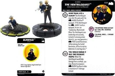 DC Heroclix - Batman: The Animated Series - THE VENTRILOQUIST w/SCARFACE #058 SR