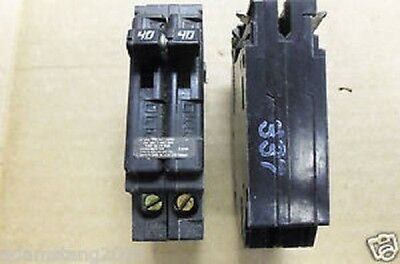 New Challenger Electric A240 40a Double 2 Pole Type A Circuit Breaker