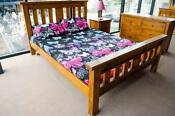 Queen Timber Slat Bed