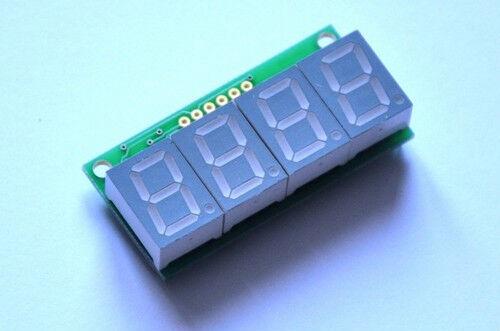 7 segment LED display - Blue