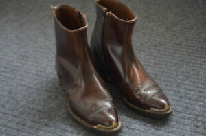 Western Men's Ankle Boots