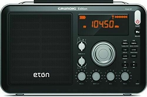Eton Field AM / FM / Shortwave Radio with RDS and Bluetooth,