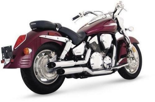 honda shadow spirit 750 exhaust ebay. Black Bedroom Furniture Sets. Home Design Ideas
