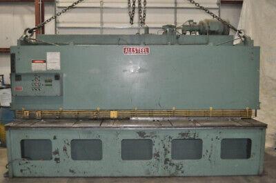12 X 14 Allsteel Model 14-12 Hydraulic Shear Adj. Rake 36 Fopbg