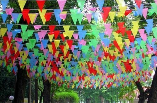 Large+10Meter+20+Flags+MultiColour+Banner+Bunting+Party+Home+Garden+Decoration
