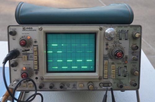 Vintage Tektronix Oscilloscopes : Analog oscilloscope ebay