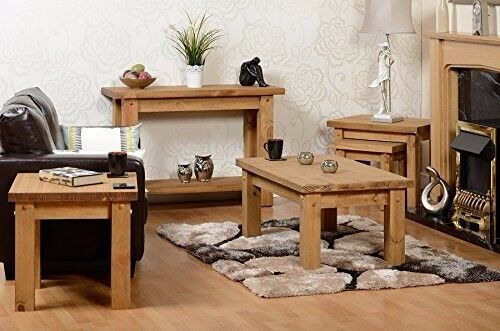 New Solid Block Console Hall Table SALE £79 in stock now get yours today