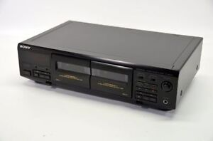 Sony Double Cassette Deck
