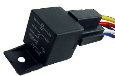 Automotive 40/30A Relay SPDT 12V Volt 5 Wire 6