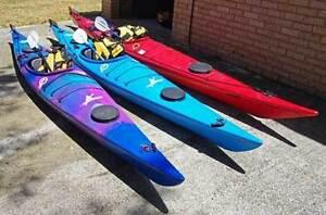 Sea Kayaks - Q Kayaks - 2 X Tui - 1 X Tasman Express Mandurah Mandurah Area Preview