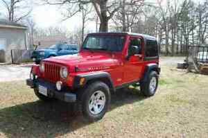 Soft top 2006 unlimited Jeep Rubicon