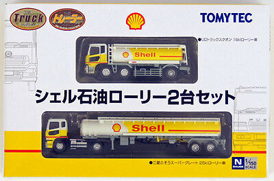 "Tomytec The Trailer Collection ""Shell"" (2 Trailer Set) 1/150 N scale"