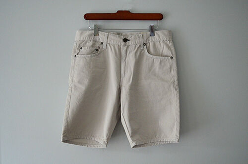 Rag & Bone Slim Fit Cotton Twill Shorts