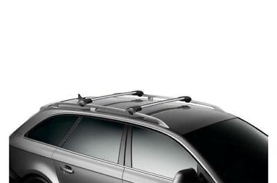 Kit Barre portatutto THULE WingBar Edge Grigio VW TIGUAN 07 16 barre longitudina