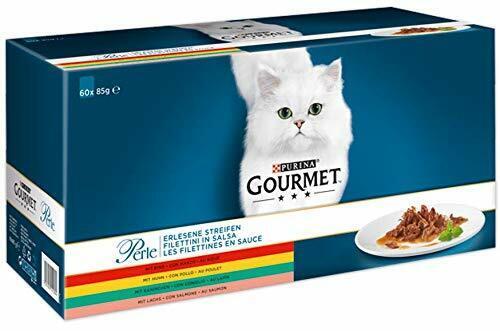 Purina GOURMET Perle Erlesene Streifen Katzennassfutter 60er Multipack (60 x 85g